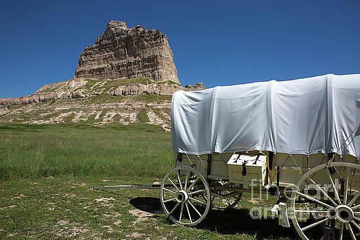 Scotts Bluff National Monument Nebraska by Steven Frame