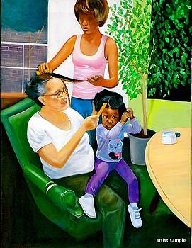 Scratch My Scalp by Gwendolyn Frazier