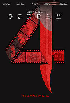 Scream 4 Alternative Poster by Christopher Ables