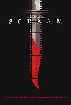 Scream Alternative Poster by Christopher Ables