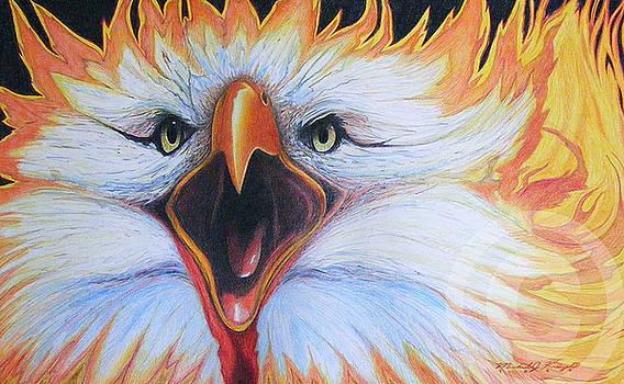 Screaming Eagle by Michael Kreizel