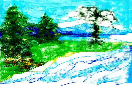 Scribbler Landscape by Seth Weaver