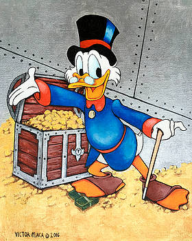 Scrooge McDuck  by Victor Minca