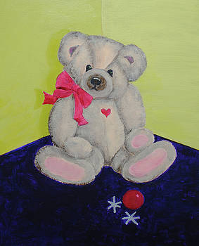 Scruffy Bear by Kay Fuller