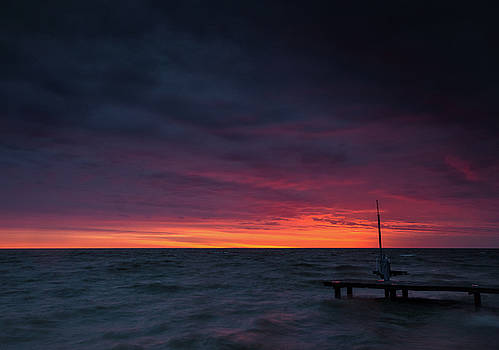 Scully Beach Park Sunrise by Cale Best