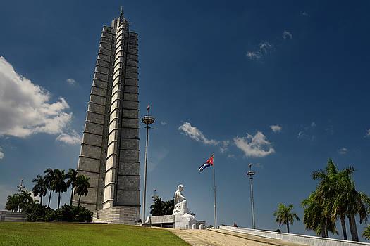 Reimar Gaertner - Sculpture and monument for Jose Marti cuban hero in Havana Cuba
