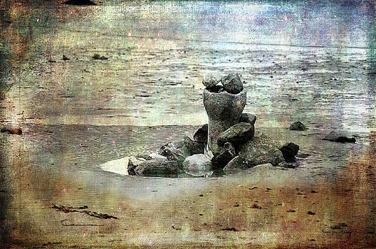 Sculpture on the Beach by Randi Grace Nilsberg