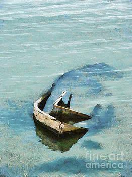 Dimitar Hristov - Sea and boat