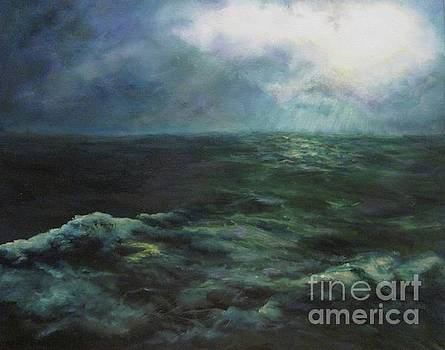 Sea And Sky by Diane Kraudelt