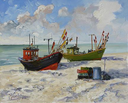 Sea beach 3 - Baltic by Irek Szelag