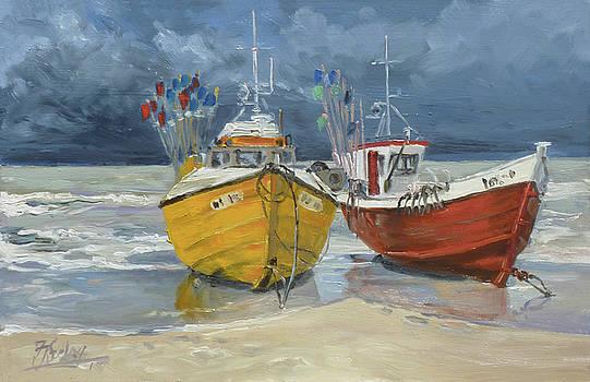 Sea beach 5 - Baltic by Irek Szelag
