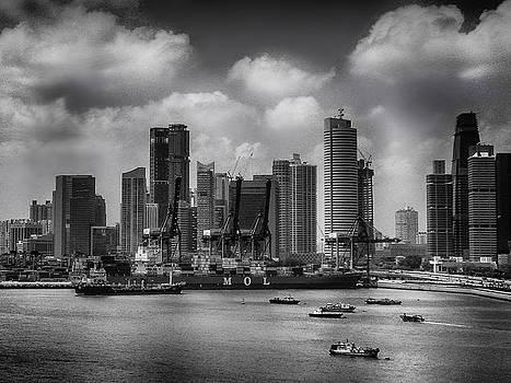 Sea CityScape Singapore  by Joseph Hollingsworth