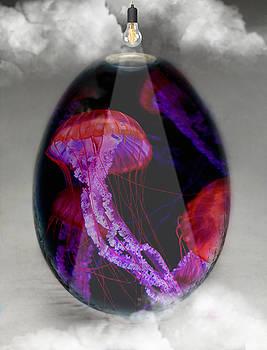 Sea Creature Jellyfish Art by Marvin Blaine