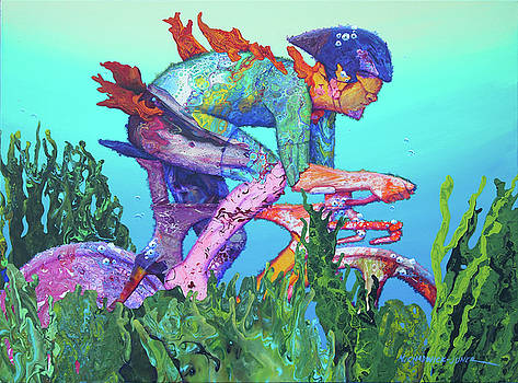 Sea Cycler by Marguerite Chadwick-Juner