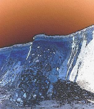Sea erosion by Richard Heath