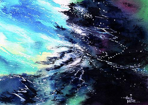 Sea Face 3 by Anil Nene