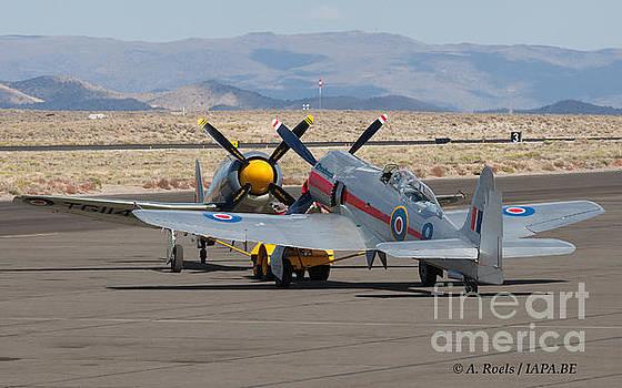 Sea Fury's  at  Reno Air Races 2007 by Antoine Roels
