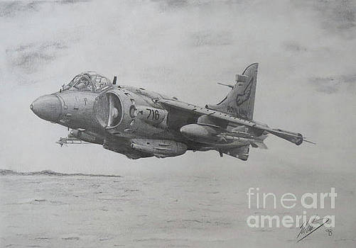 Sea Harrier FRS2 by Simon Cockett
