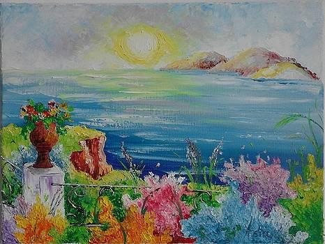 ''Sea horizon'' by Asia Dzhibirova