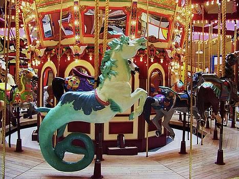 Sea Horse Carousel by Julie Rauscher