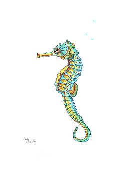 Sea Horse by Emily Brantley