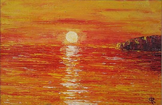 Sea in orange by Serge R