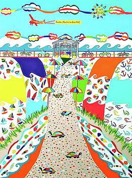 Sea Isle City, New Jersey Fun by Christine Ambrose