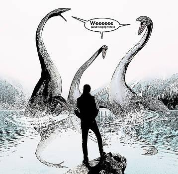 Sea Monster Comic Illustration 1 by Solomon Barroa
