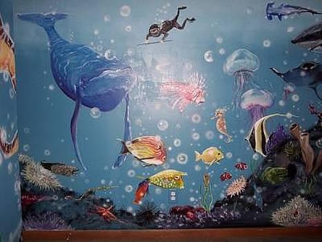 Sea Mural by Merideth Van Every