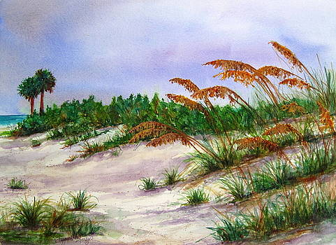 Sea Oats in the Dunes by Suzanne Krueger