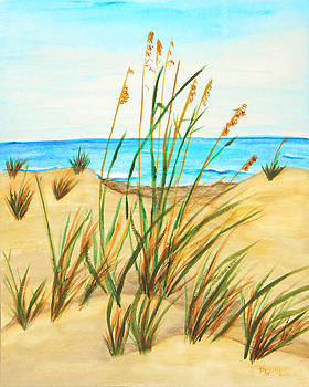 Sea Oats by M Gilroy