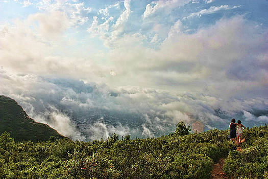 Sea of clouds by Manuel Benito