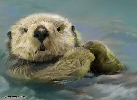 Sea Otter by Crispin  Delgado