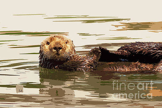 Sea Otter by Sharon Foelz