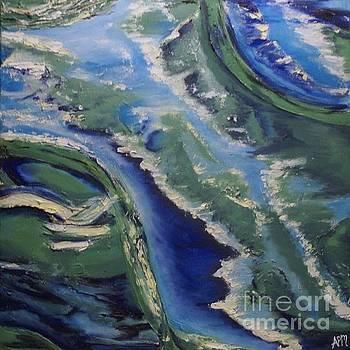 Sea scape by Antoinette Marlow