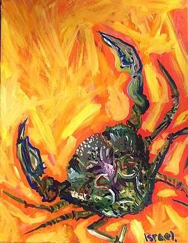 Sea Series Green Crab by Israel Fickett