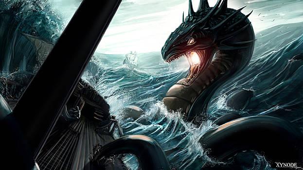 Sea Serpent by Michael Clarke