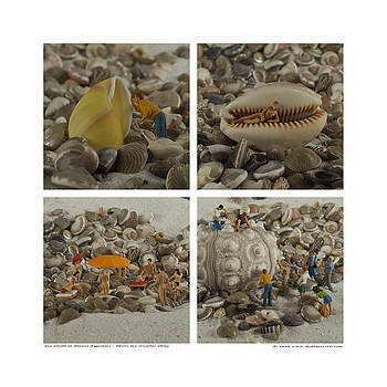 Rolf Bertram - Sea Shells With Preiser Figurines Number Three