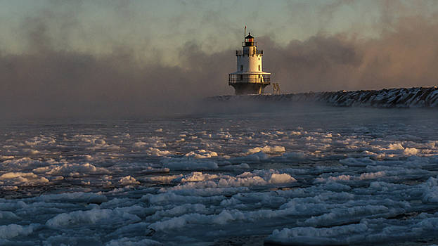 Sea Smoke by Paul Noble