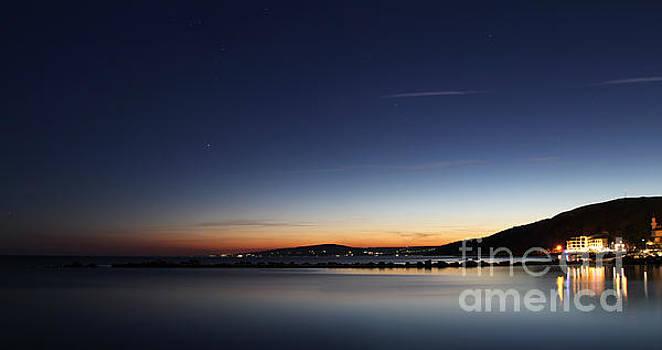 Sea sunset by Dimitar Hristov