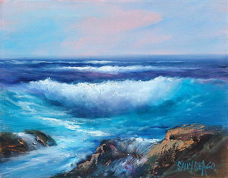 Sea Surf by Sally Seago