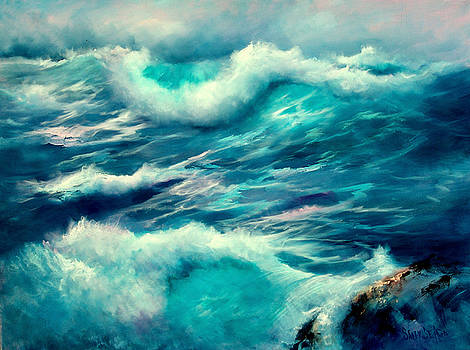 Sea Surge by Sally Seago