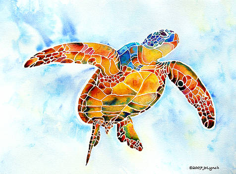 Sea Turtle Gentle Giant by Jo Lynch