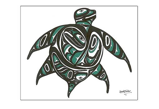 Sea Turtle green by Speakthunder Berry