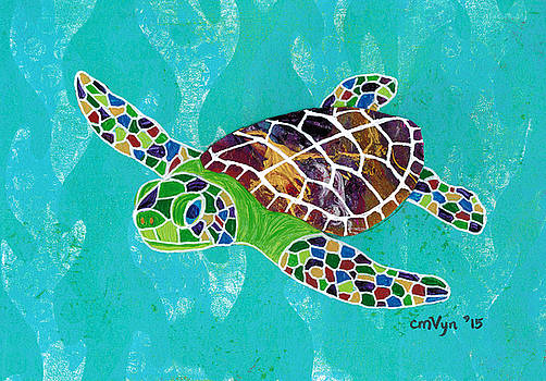 Sea Turtle Hatchling by Michelle Vyn