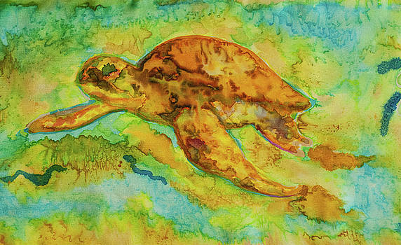 Sea Turtle by Jacqueline Phillips-Weatherly