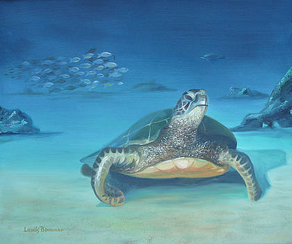 Sea Turtle by Lewis Bowman