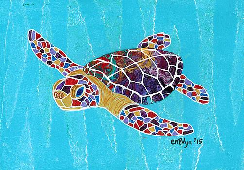 Sea Turtle by Michelle Vyn