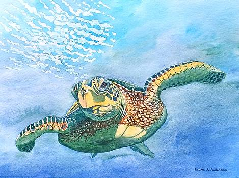 Sea Turtle Series #2 by Laurie Anderson