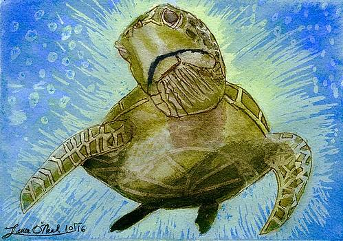 Sea Turtle Superhero by Laura O'Neal